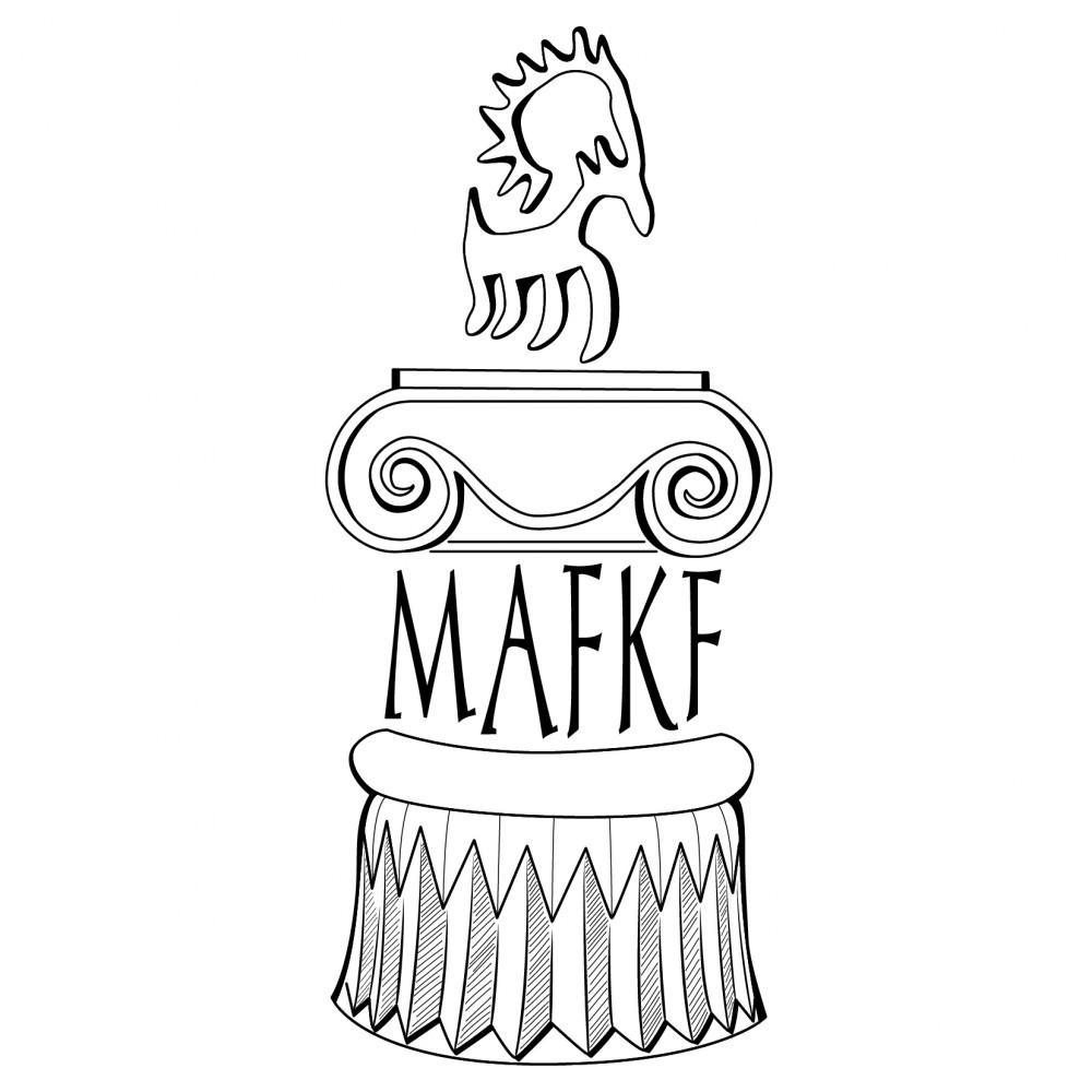 Fig. 1 : le logo de la MAFKF (dessin S. Alami-Viguié, MAFKF 2014)